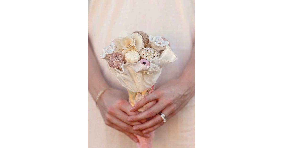 vintage knobs alternative wedding bouquet pictures popsugar home photo 9. Black Bedroom Furniture Sets. Home Design Ideas