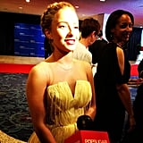 Hayden Panettiere admitted she was very excited to attend the White House Correspondents' Dinner.
