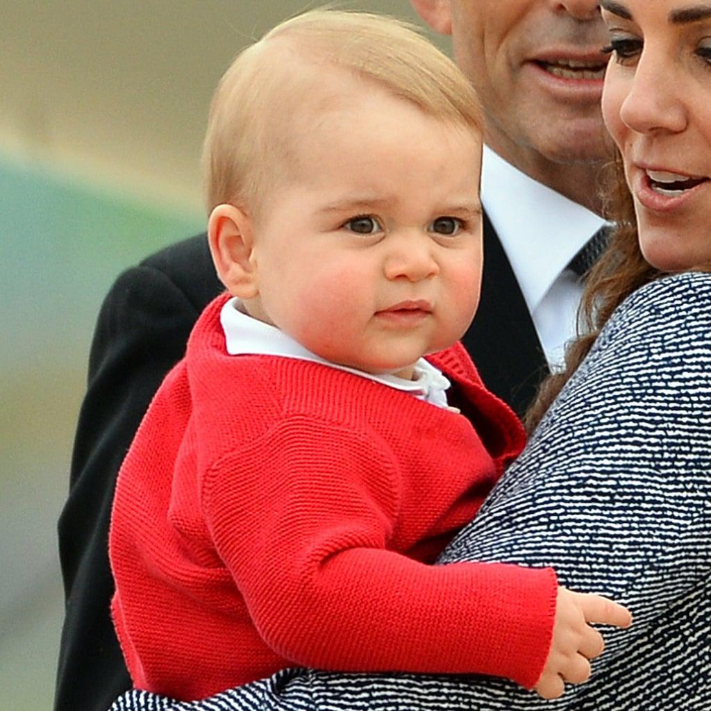 Prince Georges Best Facial Expressions Popsugar Celebrity