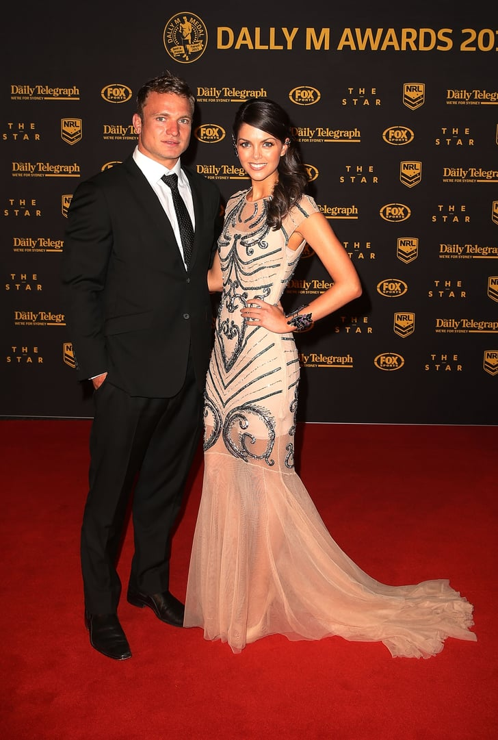 Tom Hodges Auto >> Jake Friend and Paige Duffy | 2013 Dally M Awards NRL Players and WAGs Red Carpet Pictures ...