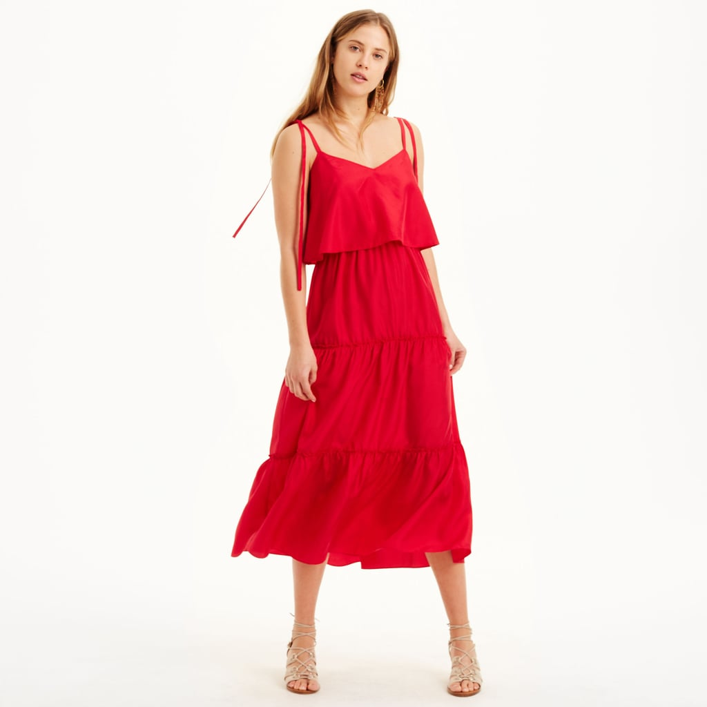 Club Monaco Quenby Tiered Dress