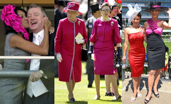 Pictures of Celebs at Royal Ascot Day Two