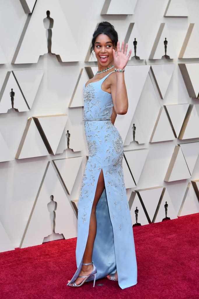 Laura Harrier at the 2019 Oscars