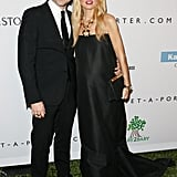 Rachel Zoe and Rodger Berman arrived at the Baby2Baby Gala together.