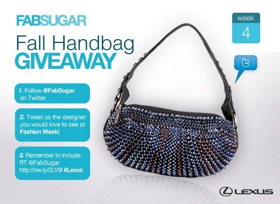 FabSugar Fall Handbag Giveaway, Diane von Furstenberg