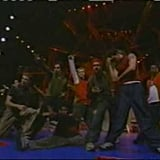 "1999: She did a rock-tinged rendition of "". . . Baby One More Time"" in a joint performance with *NSYNC."