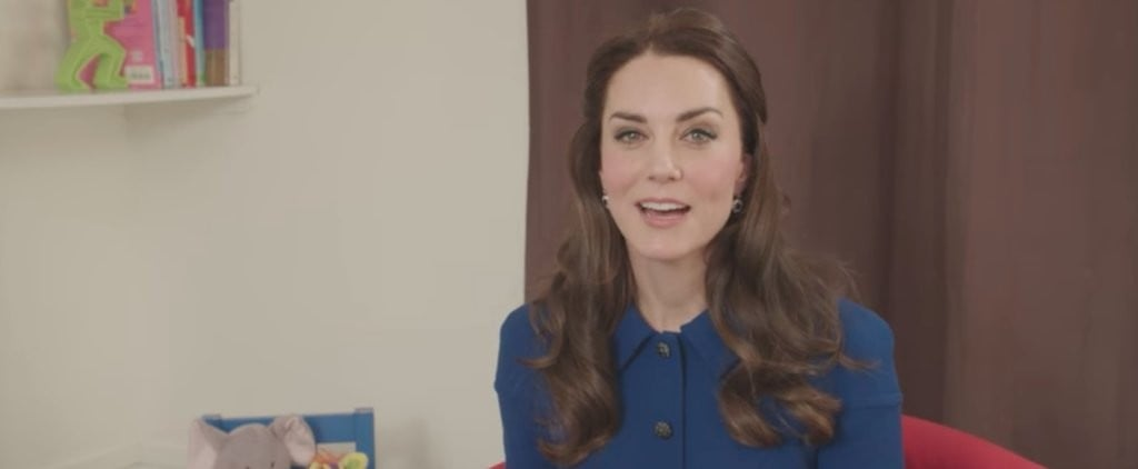 """Kate Middleton Continues Her Crusade For Children's Mental Health in New Video: """"It Can Be Difficult"""""""