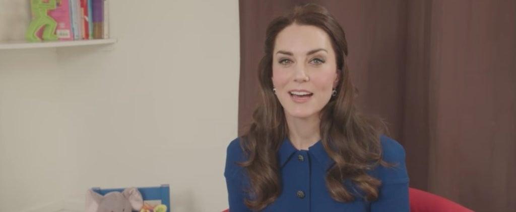 Kate Middleton Children's Mental Health Video
