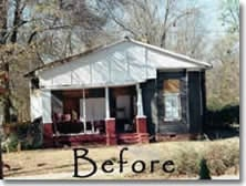 Before and After:  A Serious Fixer-Upper