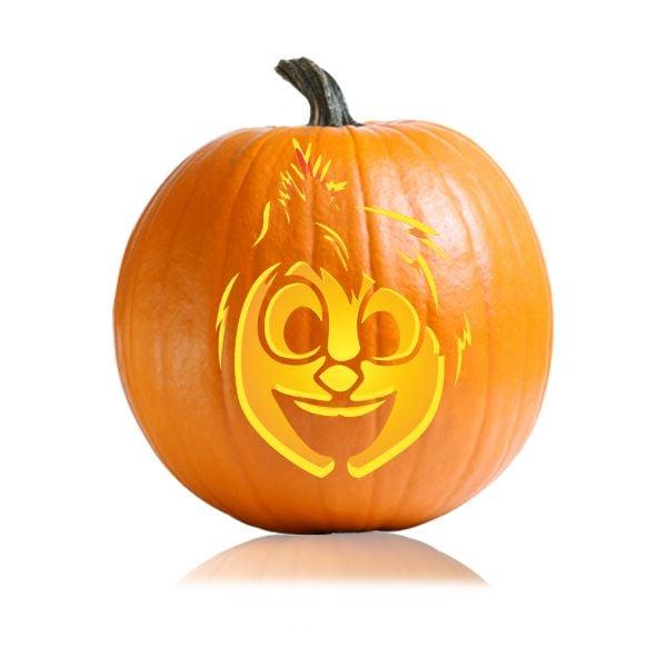Joy cartoon character pumpkin carving ideas for kids for Cartoon pumpkin patterns