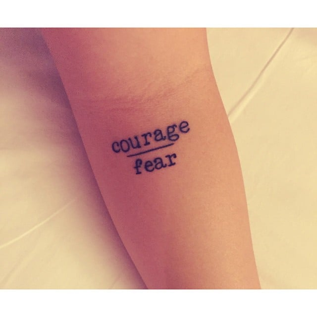 Courage vs. Fear