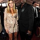Photos of Heidi Klum and Seal at Grammy Awards