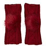 Forever 21 Fingerless Pom-Pom Gloves ($7)