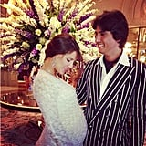 Margherita Missoni and her husband, Eugenio Amos, attended a fancy event together — check out that bump! Source: Instagram user mmmargherita