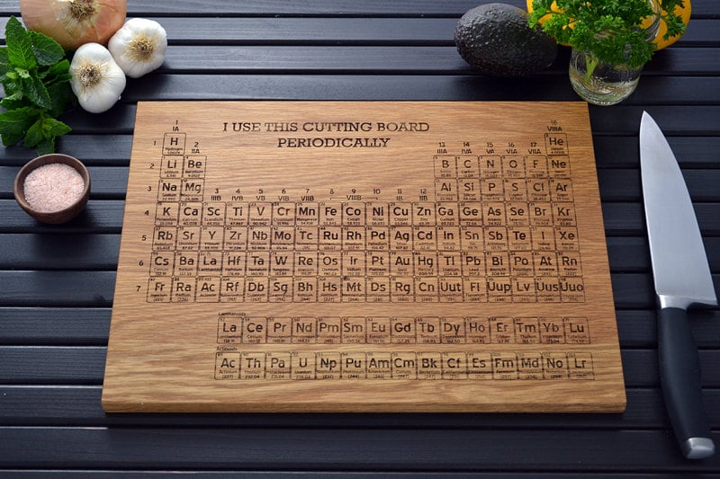 the kitchen is where your greatest scientific experiments go down so a periodic table of - Periodic Table Experiments