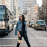 Add Some Edge to Your Look With Leather Pants and White Boots