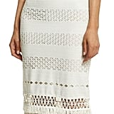 Jonathan Simkhai Mechanical Macrame Gown, Ivory ($1,595)