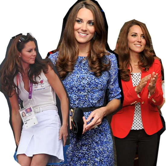 Pictures of Kate Middleton at the 2012 London Olympics: See What the Duchess Has Worn So Far