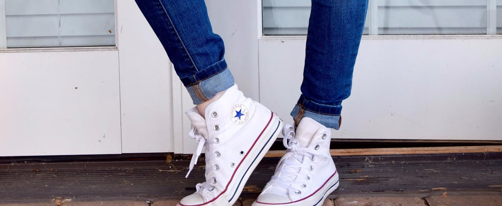White Sneakers Cleaning Hack
