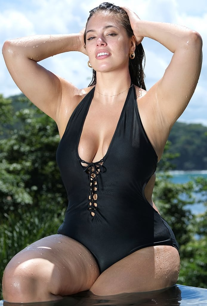 Swimsuits For All x Ashley Graham VIP Black Swimsuit