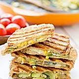 Zucchini and Corn Panini With Pepper Jack Cheese