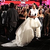 For Her Fourth Look, Tracee Looked Almost Bridal in This Tulle Creation