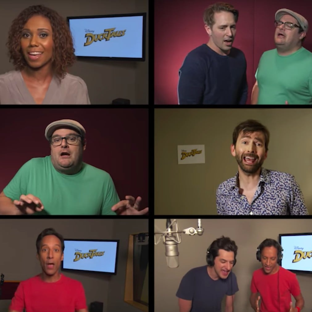 DuckTales Reboot Cast Singing the Original Theme Song