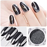 Magic Mirror Black Nail Glitter Powder
