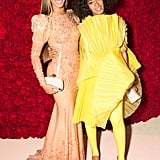 Pictured: Solange Knowles and Beyonce Knowles