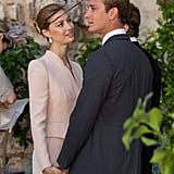 They shared a sweet moment at a September 2013 wedding in France.