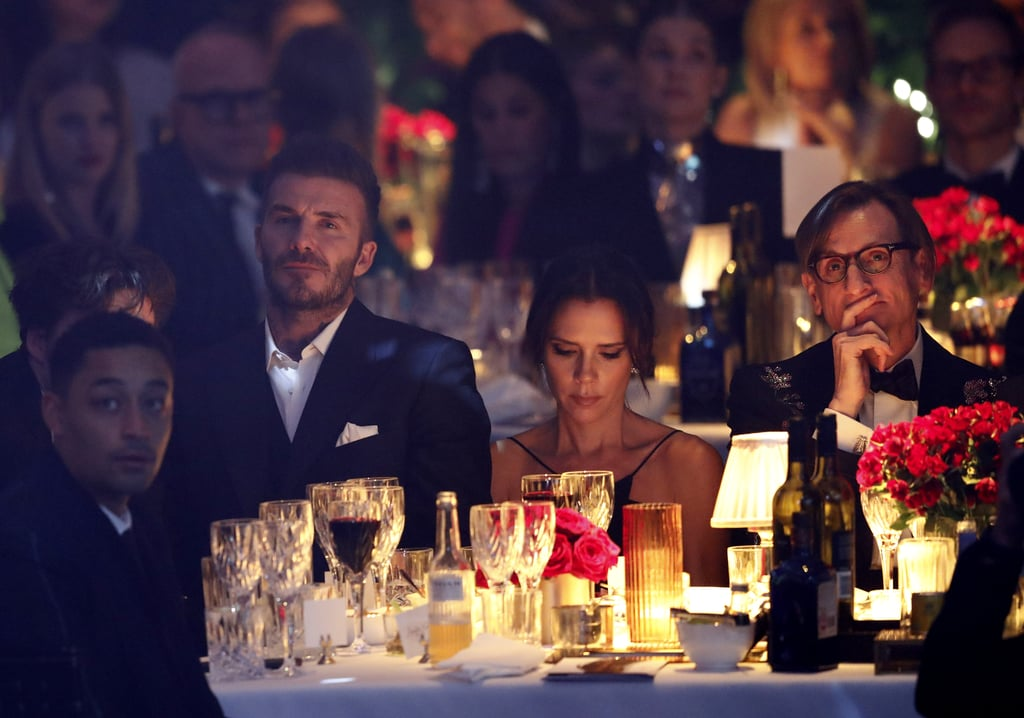 David and Victoria Beckham British Fashion Awards 2018