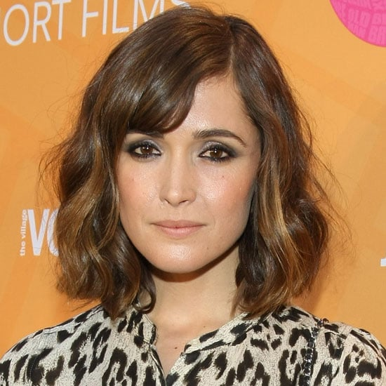 Rose Byrne Wears Her Fringe To The Side at 2012 New York Tropfest