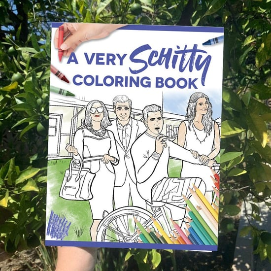 You Can Get a Schitt's Creek Coloring Book on Etsy