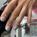 Jameela Jamil Just Made a Case For Minimalist Rhinestone Nail Art, and We re All Ears