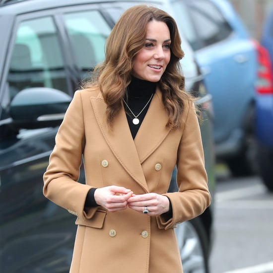 Kate Middleton Massimo Dutti Coat and Zara Skirt 2020