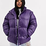 ASOS Design Puffer Jacket With Detachable Sleeves