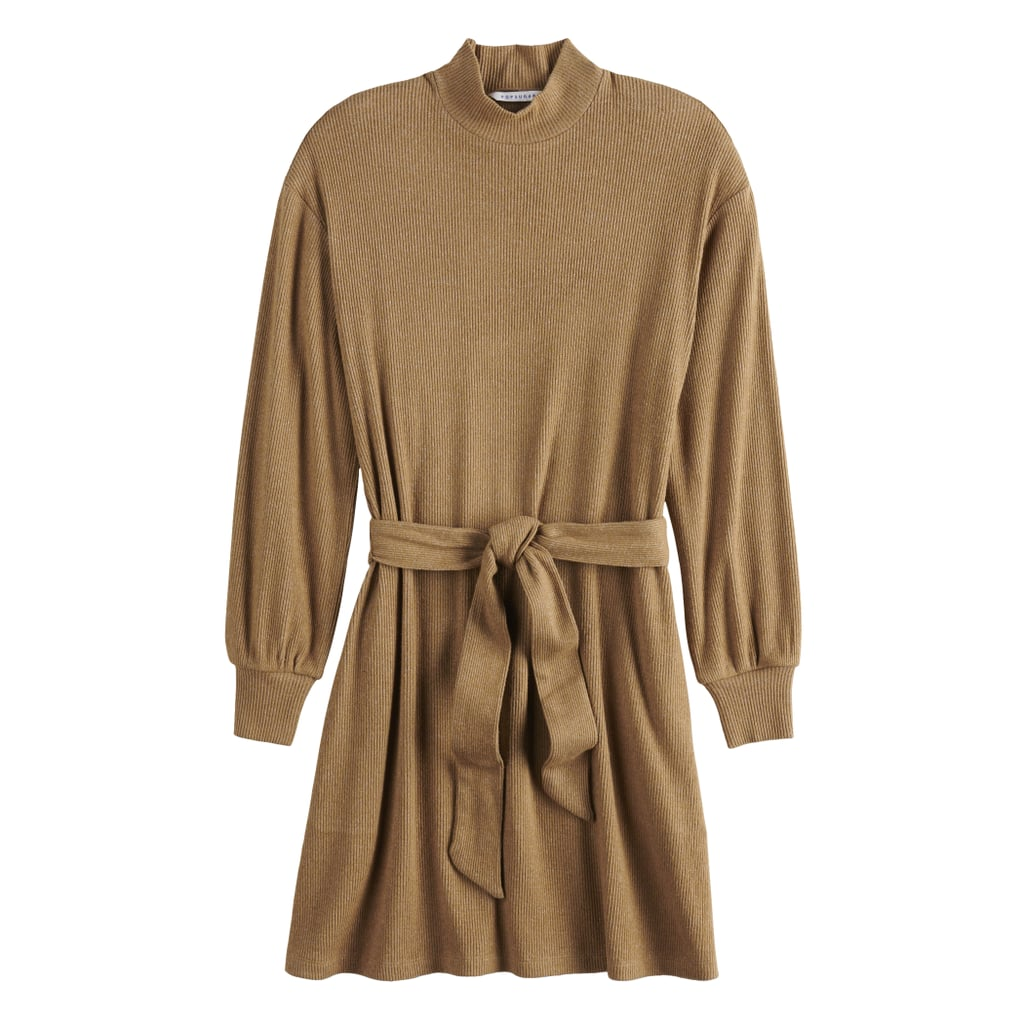 POPSUGAR Belted Cozy Dress