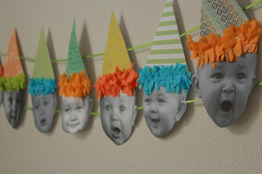 Baby Birthday Banner