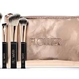 Flower Beauty Travel Brush Set