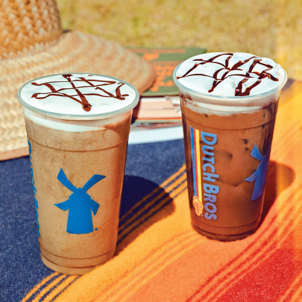 Dutch Bros Campout Mocha Freeze and Iced Campout Cold Brew