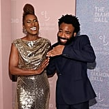 Issa Rae and Donald Glover
