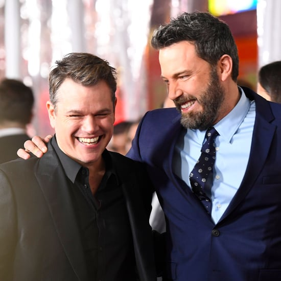Ben Affleck and Matt Damon at Live by Night Premiere 2017