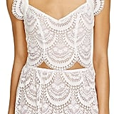 "The Tank: For Love & Lemons Rosalita Lace Scallop Crop Top ($190) The Glowing Review: ""This top is so flattering and looks very beautiful and unique. It fits true to size and provides enough support to wear it without bra. I am 5'3 and 32D and size XS fits perfectly."""