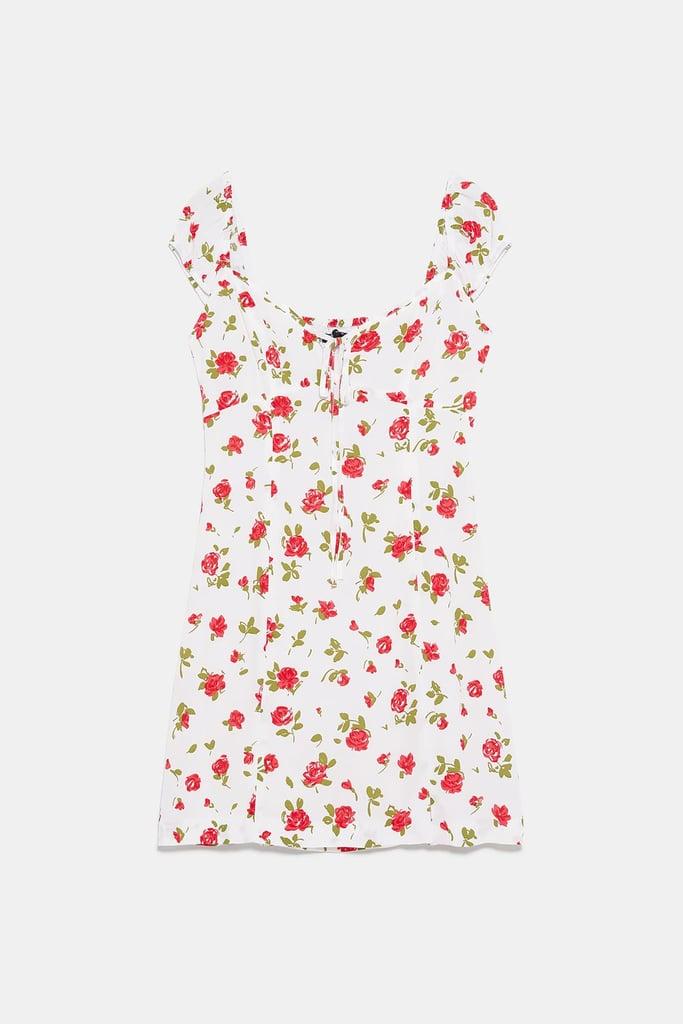 Zara Rose Print Dress
