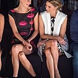 Poppy Delevingne and Olivia Palermo