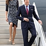 Kate Middleton wore a lace Erdem dress during her visit to Ottawa with Prince William.