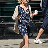 Sienna Pairs Her Sundresses With Cozy Cardigans and a Luxe Bag