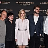 The Hunger Games Cast Paris Photocall Pictures