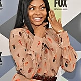 Taraji P. Henson Engagement Ring at Fox Upfronts May 2018