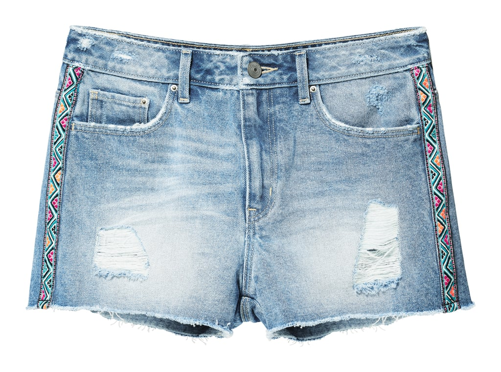H&M LOVES COACHELLA Denim Shorts ($25)
